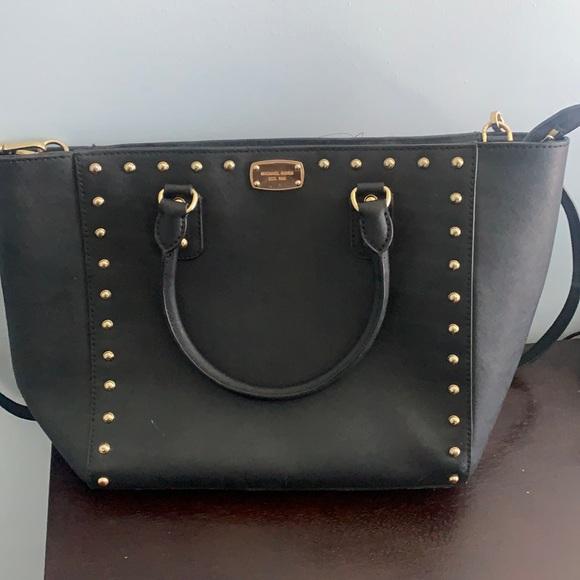 Michael Kors Voyager Studded Handbag